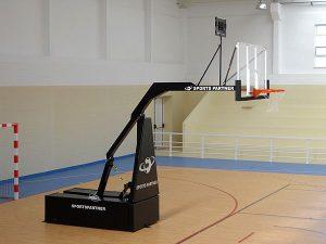 преместваеми сгъваеми баскетболни кошове