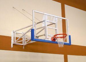 баскетболен кош за стена