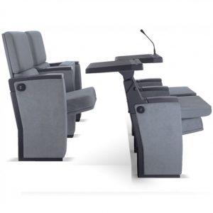 тапициране столове от най-висок клас с маса, таблет за писане