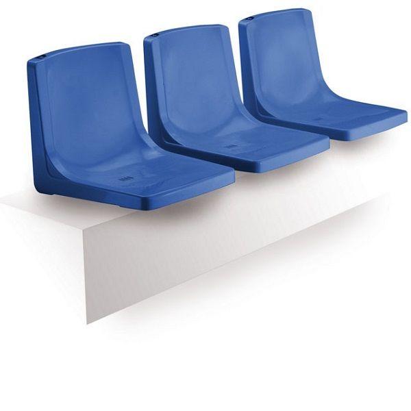 Пластмасови Седалки с Висок и Нисък гръб за Стадион и Спортна Зала