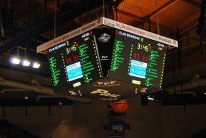Видеокуб за баскетболна зала