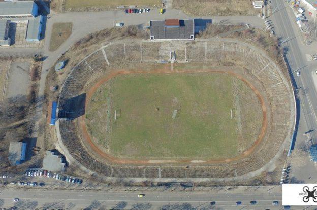 ремонт стадион черноморец