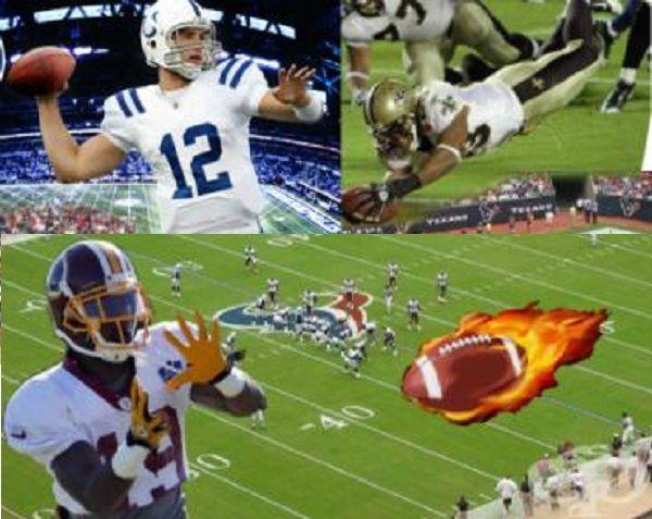 Спортно електронно табло за резултат и повторения американски футбол