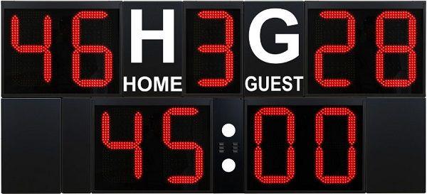Спортно електронно информационно табло за хокей на лед и трева