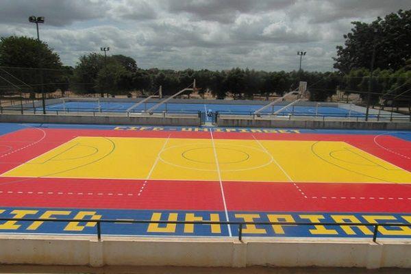 Полипропиленови плочи за външни и вътрешни спортни игрища