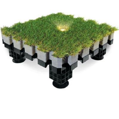 Луксозна изкуствена трева тип пъзел