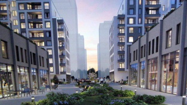 Нов жилищен комплекс модерно предградие люлин обеля