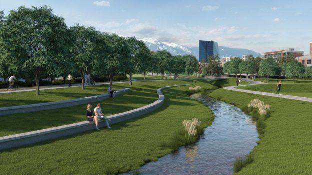 проект за зелен парк в квартал манастирски ливади